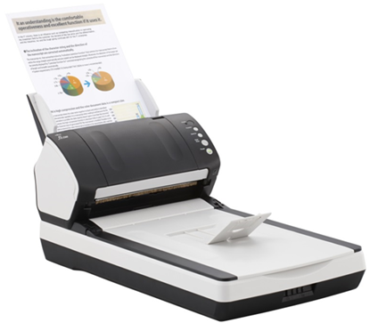 Изображение Документ-сканер A4 Fujitsu fi-7240 (встроенный планшет)